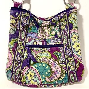 Vera Bradley Heather Quilted Cross Front Hipster